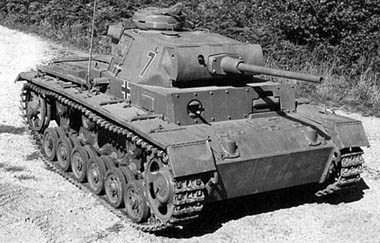 Средний танк pz iii pz kpfw iii
